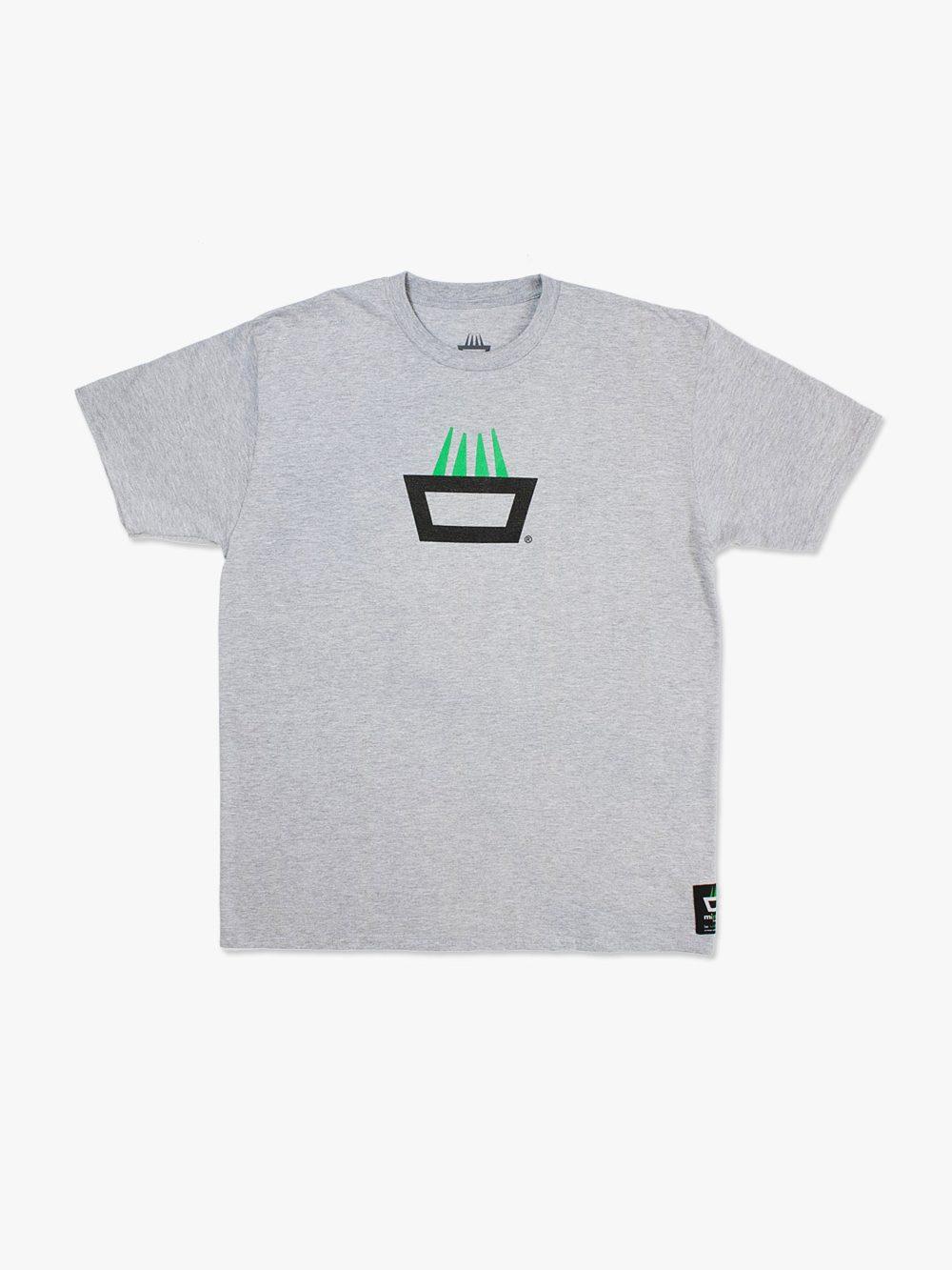 Camiseta mimaría hempworks color gris logo original