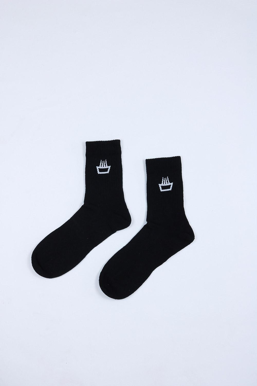 Calcetines de cáñamo mimaría hempworks color negro