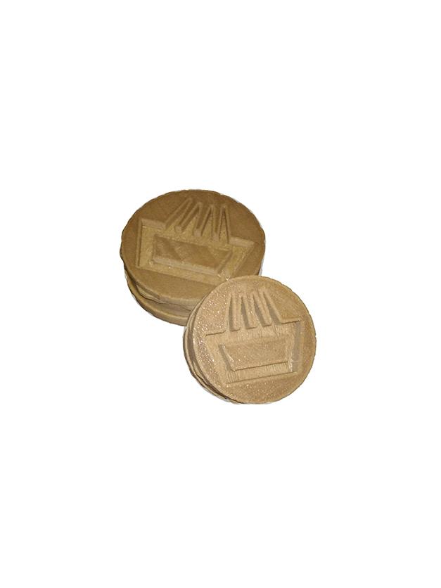 Grinder mimaría hempworks producido con bioplástico de cáñamo por impresión 3d